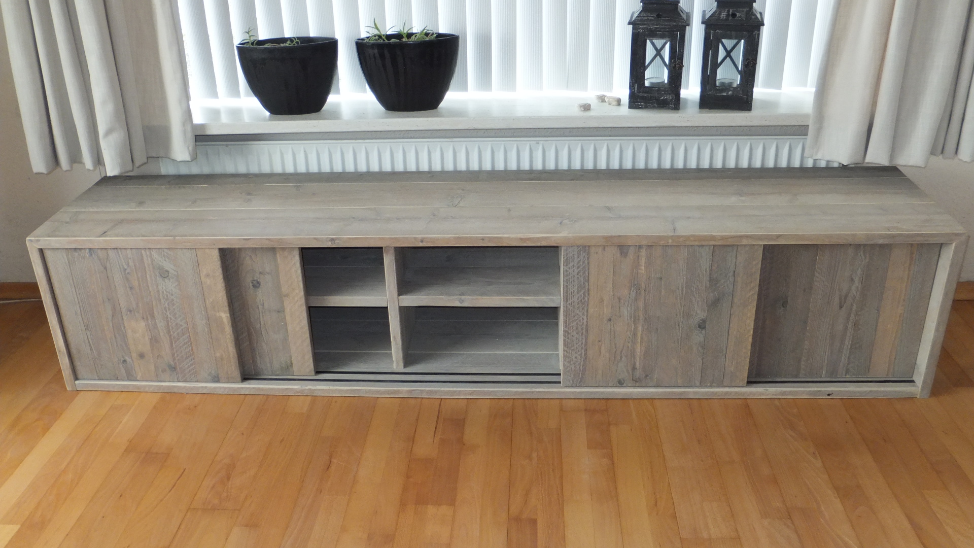 cheap excellent tv meubel zelf maken steigerhout houten kast op maat laten maken with tv kast maken with tv meubel steigerhout zelf maken
